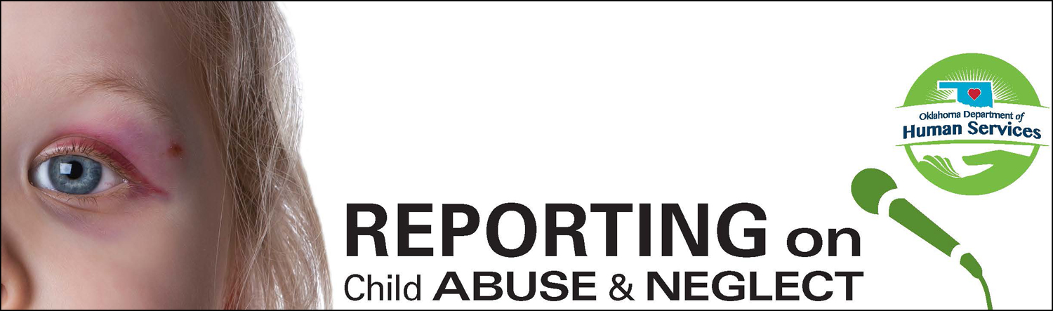 Photo that says Reporting on Child Abuse and Neglect